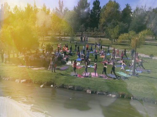 AZAHAR Foundation Yogathon Puebla Mexico, 2017